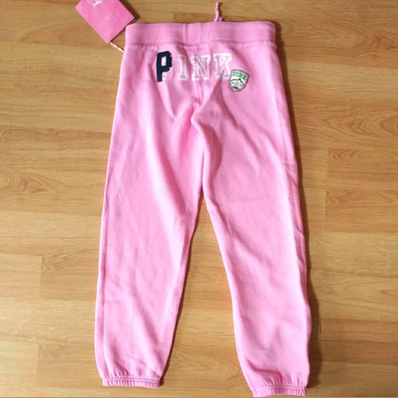 0a418803a081a DEADSTOCK VS PINK Bum Spellout My Favorite Sweats NWT